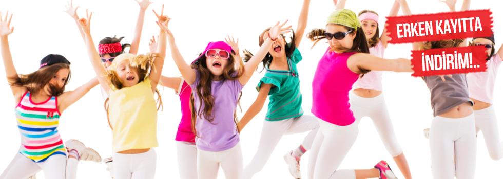 Çocuklar İçin Dans Kursu
