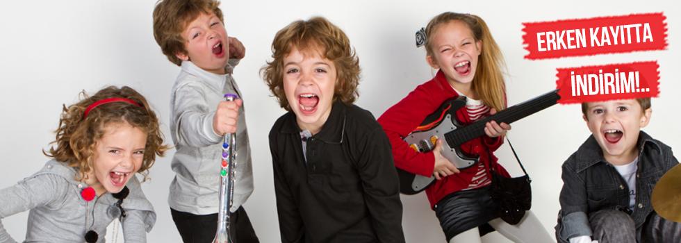 Çocuklar İçin Müzik Kursu